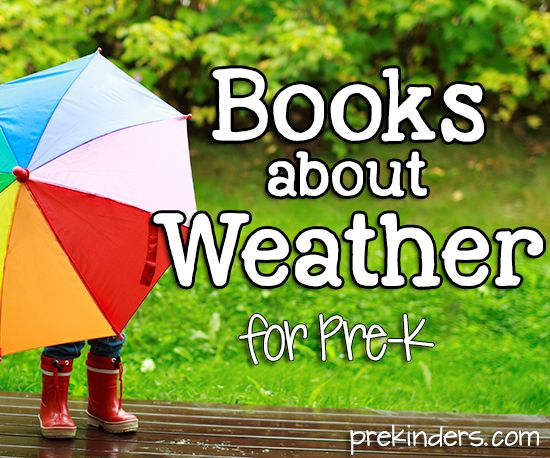 books about weather for elementary students