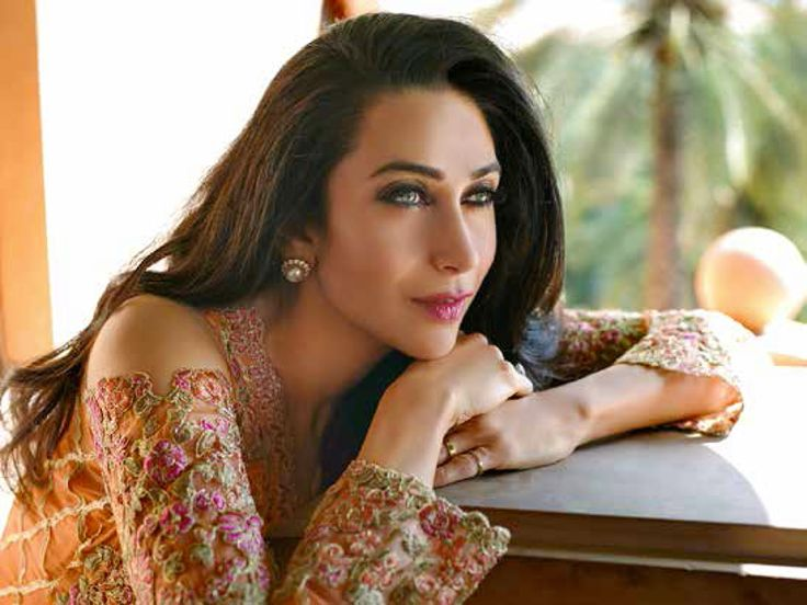 Karishma Kapoor Actress modeling for Mina Hasan Chiffon Embroidered Dresses Eid 2016 UK USA Canada Australia Saudi Arabia Bahrain Kuwait Norway Sweden New Zealand Austria Switzerland Germany Denmark France Ireland Mauritius and Netherlands