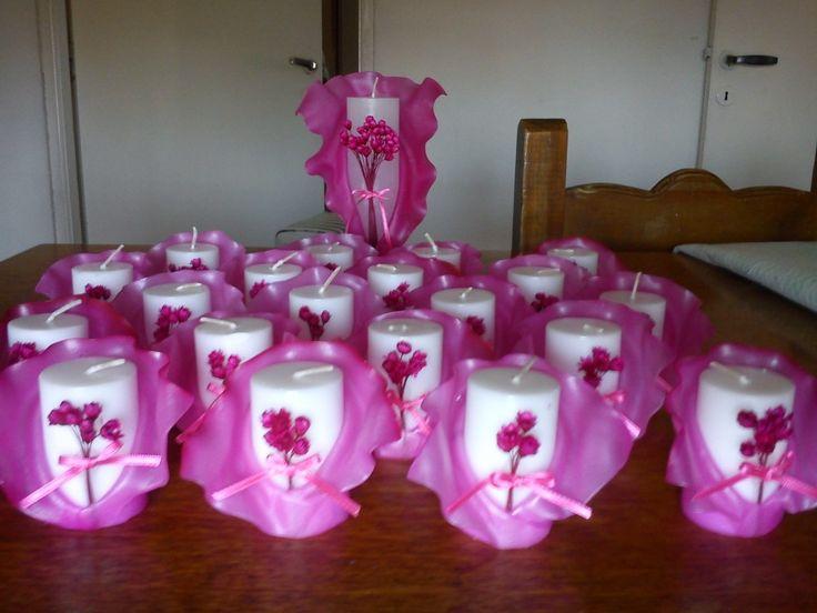 Velas Para Souvenirs O Ceremonia De Velas Para 15 Años - $ 7,50 en ...