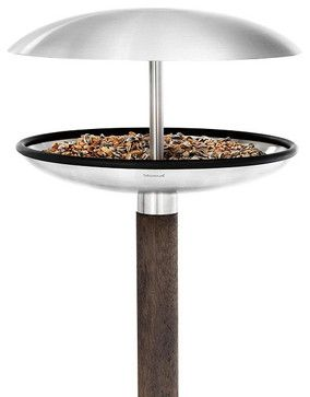 Fuera Bird Feeder/Birdbath - contemporary - bird feeders - Austin - PureModern