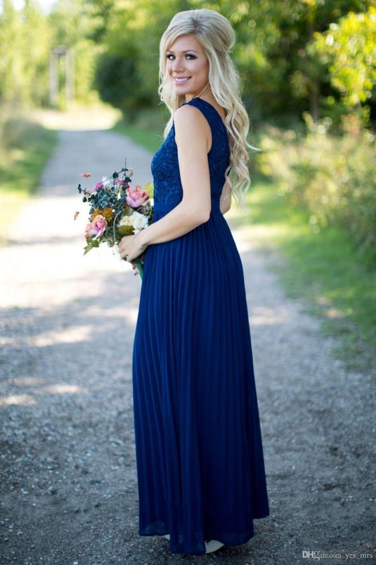 Blue Bridesmaid Dresses,A-line Bridesmaid Dress,V-neck bridesmaid dress,Custom bridesmaid dress, Wedding Party Dresses,Long Bridesmaid Dress,Bridesmaid Dresses,Bridal Gowns