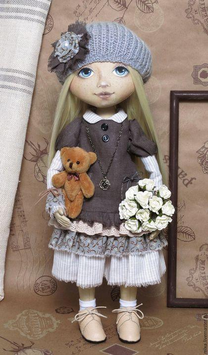 Коллекционные куклы ручной работы. Ярмарка Мастеров - ручная работа. Купить Маша. Handmade. Интерьерная кукла, коллекционная кукла