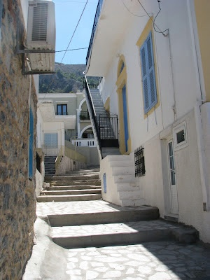Pothia, on the island of Kalymnos in Greece