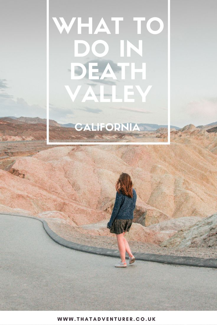 Thinking of visiting Death Valley national park in California, USA? Here's everything you should do when you visit this national park from hiking to sightseeing!