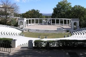 *chi omega greek theater; gift to the university of arkansas