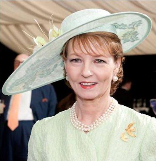 Crown Princess Margarita, May 16, 2014 in Kristina Dragomir | Royal Hats