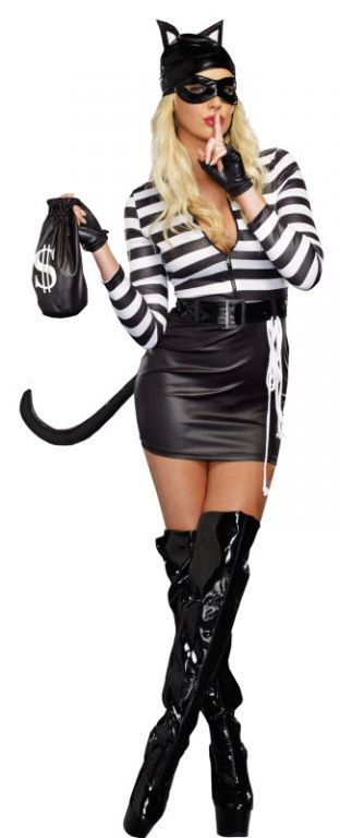 Women's Cat Burglar Costume