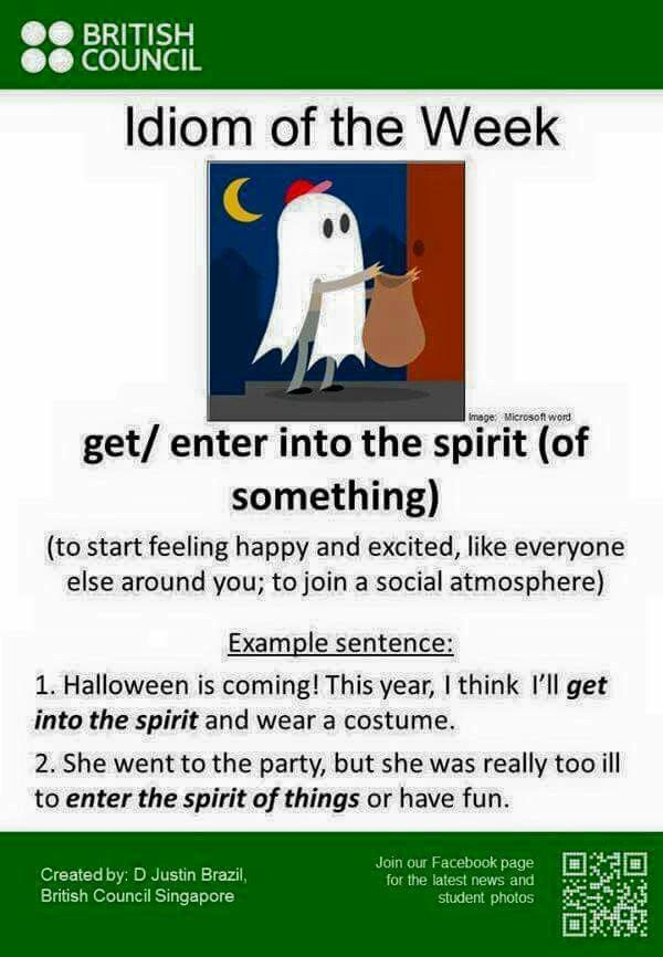 Get into the spirit!