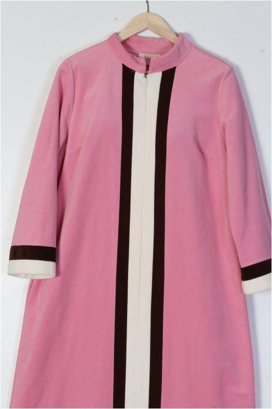 1960's Vanity Fair Velour Velvet Night Gown Kaftan Roomy Ladies Size 10