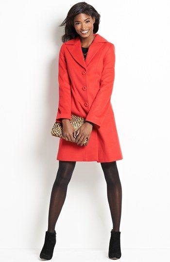 Wool Winter Coat by Kristen Blake