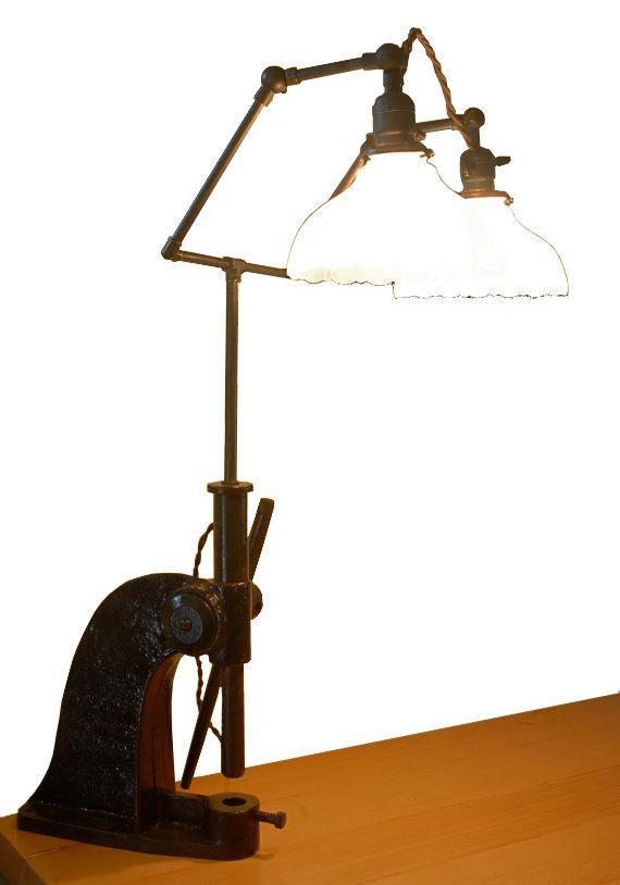 Just Custom Lighting   Listings View Vintage Industrial Wa Ross Reloader  Lamp. #handmadelighting #