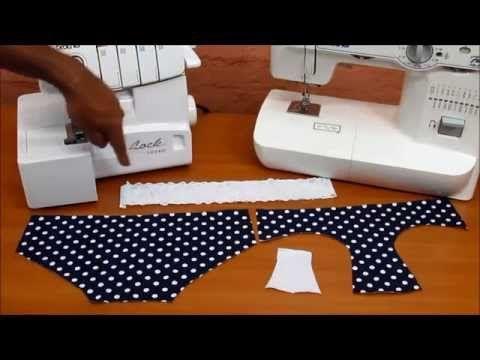Panty victoria 76 Guia de costura HUGOQUILI - YouTube