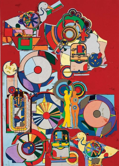 Eduardo Paolozzi... collages to show different things i am focusing on