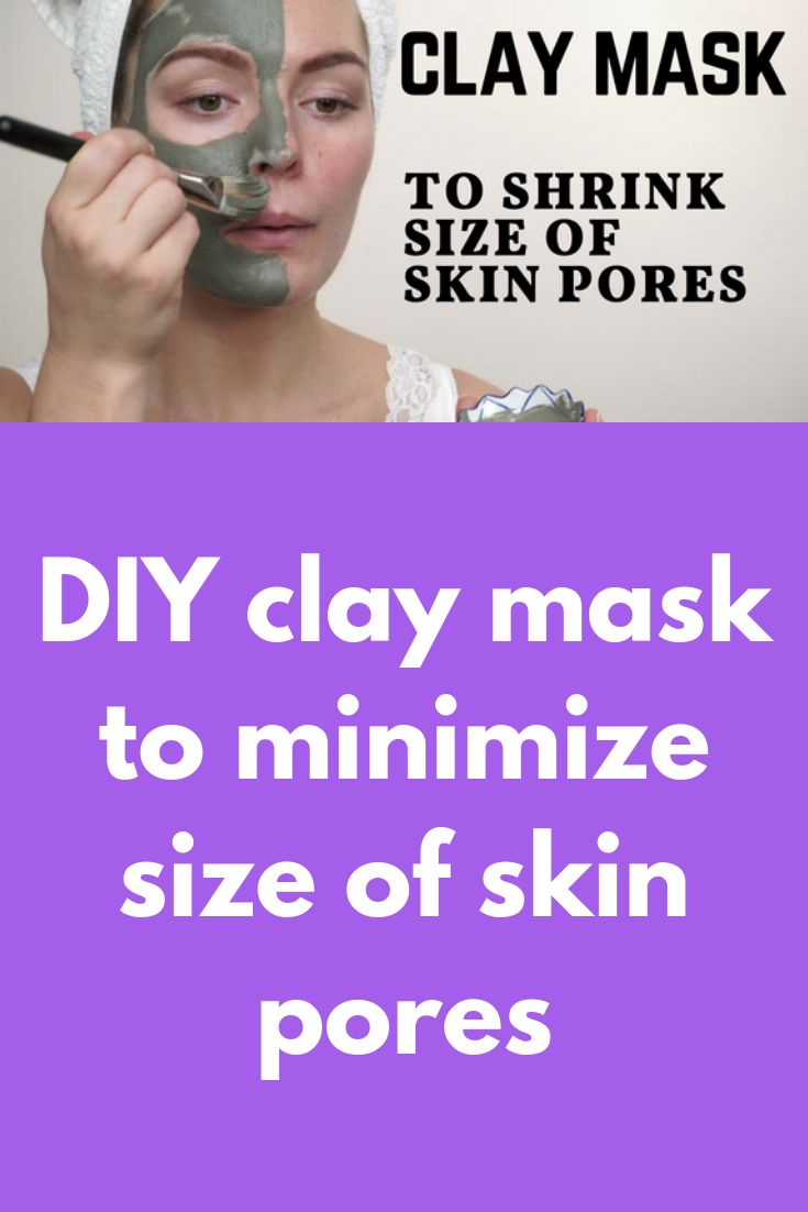 DIY clay mask to minimize size of skin pores Pores can be seen all over the body. In fact, it is scientifically proven that for every hair on a human's body there is a pore. Pores are also responsible for releasing the toxins and oils from the skin. If there are more pores on your face than on your other parts of the body … #CharcoalMaskFace