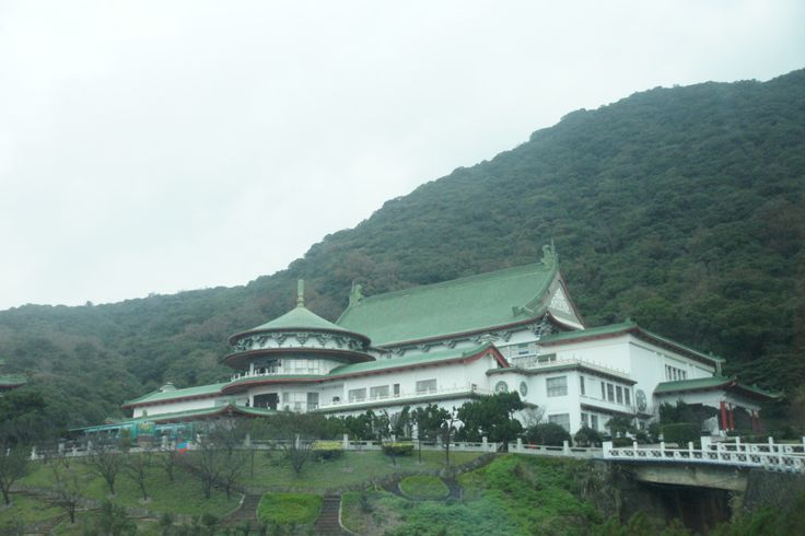 Beitou, Taipei, Taiwan: The Palace on the NT$100 note.