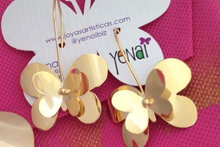 Double Butterfly Earrings