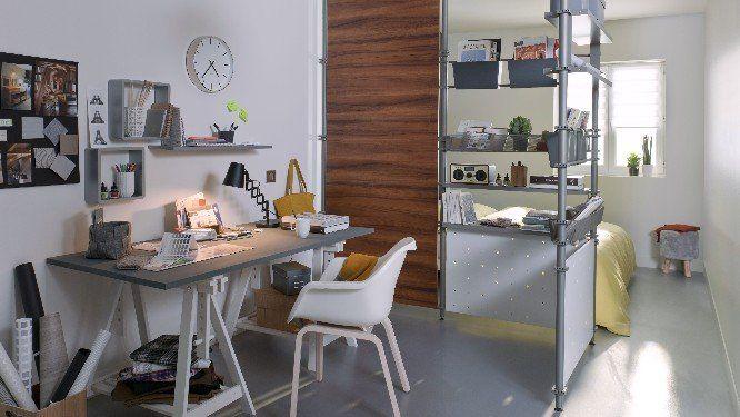 1000 id es sur le th me cloison modulaire sur pinterest acoustique voilages et plafond bois - Cloison studio ...