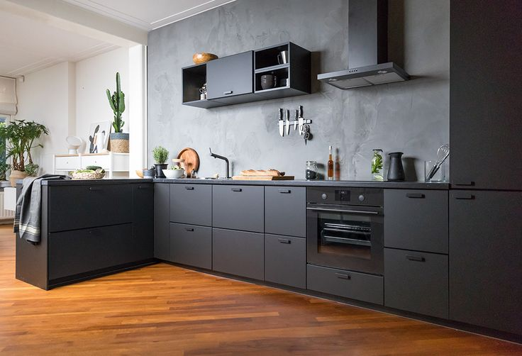 IKEA - KUNGSBACKA cabinets made from recycled plastic and wood