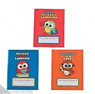 YOU'RE A HOOT  OWL PARTY ~ Draw and Write Journal - pack of 3 - Free Postage