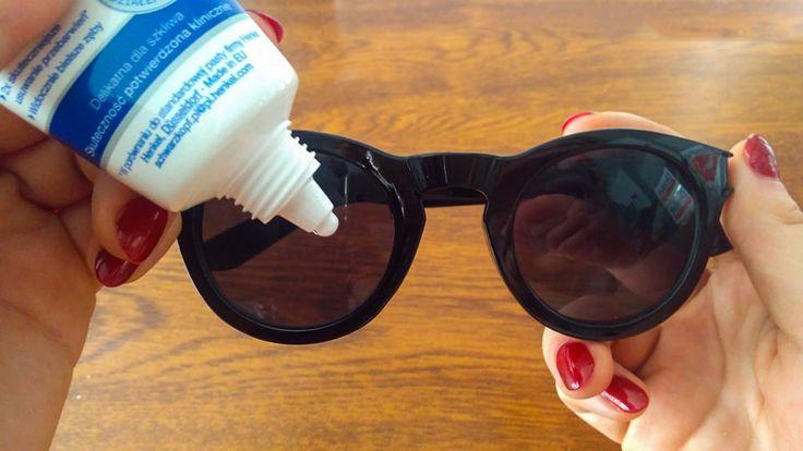 4 domowe sposoby na pozbycie się rys z okularów. Szkła będą jak nowe! - Genialne
