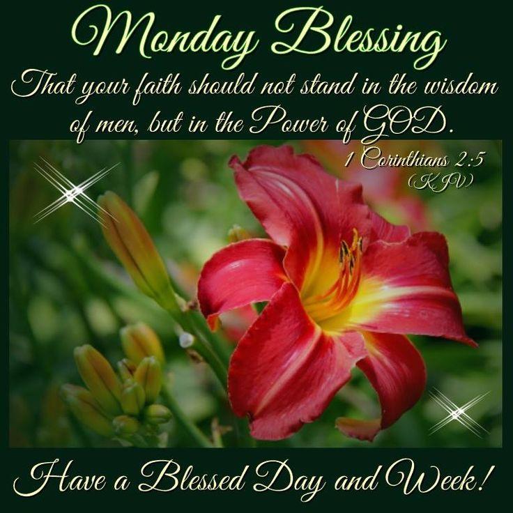 Monday Blessing, 1 Corinthians 2:5