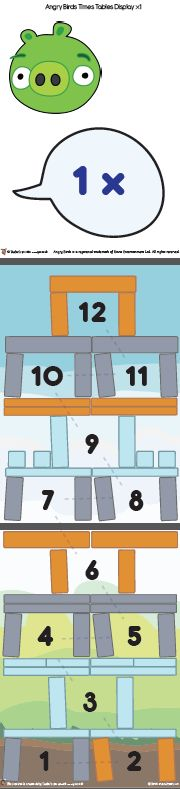 64 best Toby - Angry Bird Math images on Pinterest | Teaching ideas ...