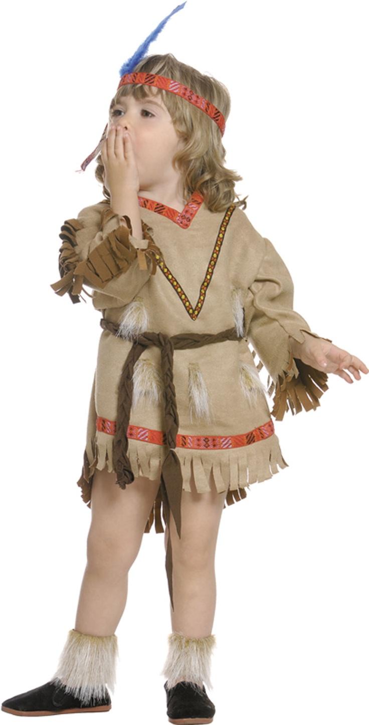 Disfraz de india para bebe disfraces para bebes pinterest - Traje de duende para nino ...