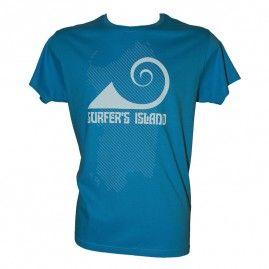 T-shirt Surfer Sardegna Uomo blu