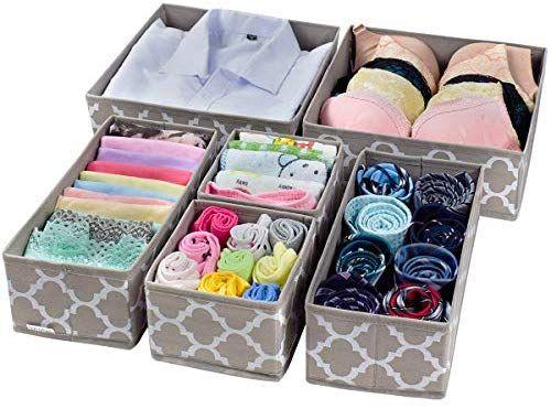 Best Amazon Com Foldable Cloth Storage Box Closet Dresser 640 x 480