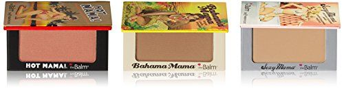When it comes to a gorgeous complexion, Mama knows best. This trio includes Bahama Mama, a matte bronzing powder formulated to leave your skin with a beautiful, natural-looking tan without any dreaded orange undertones...