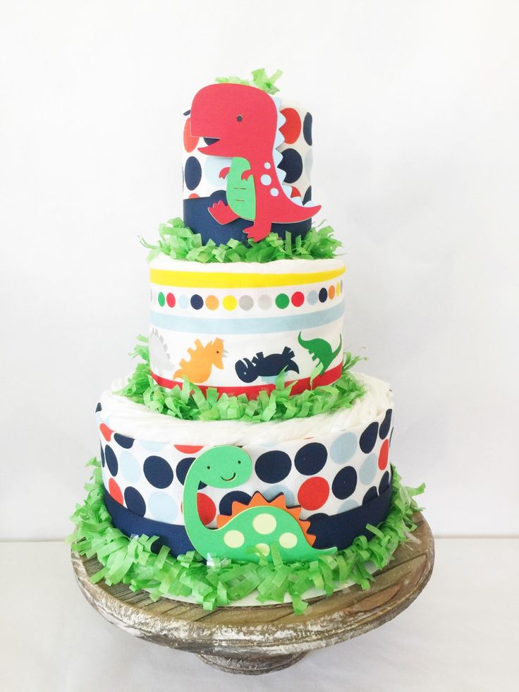 Dinosaur Baby Shower Centerpiece, Dinosaur Theme Diaper Cake, Decorations  By AllDiaperCakes On Etsy Https