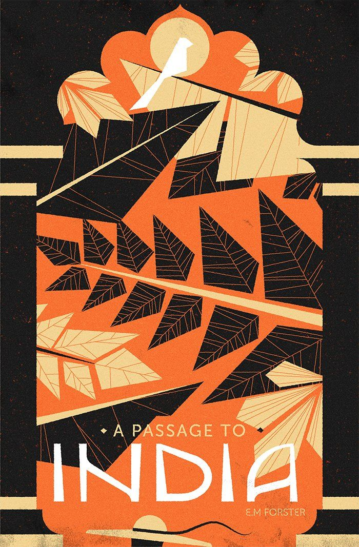 A Passage to India - Book Cover Design by Muti