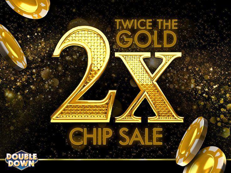 double down casino 3x chip sale code