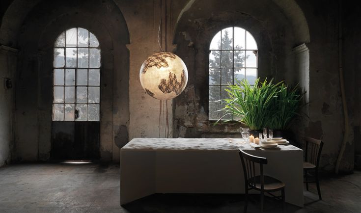 Nice Earth Globe Pendant Lighting  #Concept #Design #Glass       The Ululi Ulula suspension lamp by Matteo Ugolini, takes you back to nature and closer to humanity. This beautiful and inspiring lamp c...