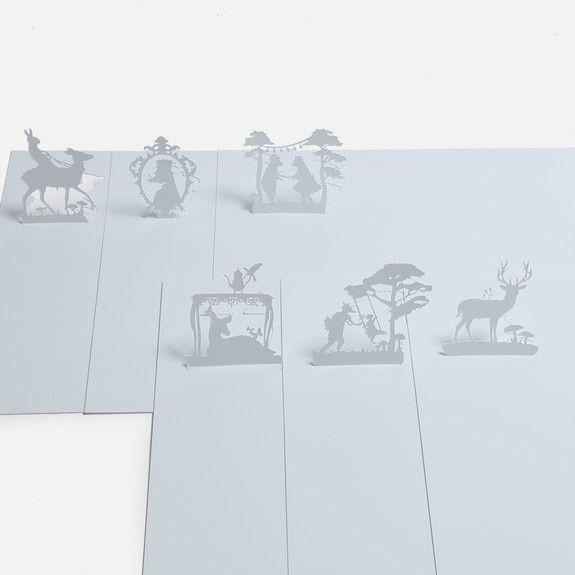 Elsje Designs - Woodlands Pop-up Placemats Set of 6
