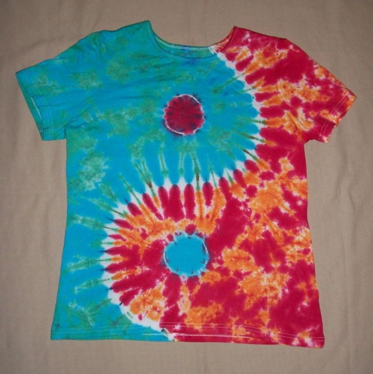 Tie Dye Shirt Directions