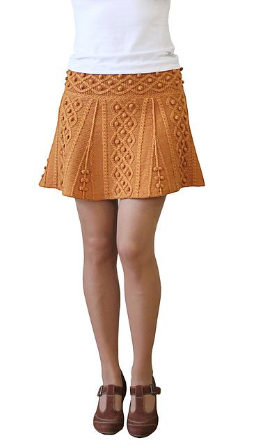 Ravelry: Vitamine C skirt pattern by Tatiana Tatianina, available for purchase