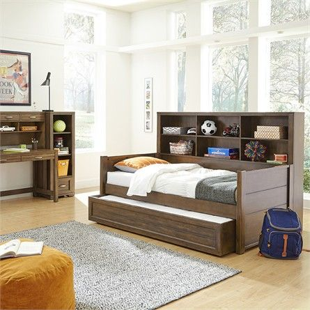 Rosenberry Rooms has everything imaginable for your child's room! Share the news and get $20 Off  your purchase! (*Minimum purchase required.) Landon Bookcase Bed #rosenberryrooms