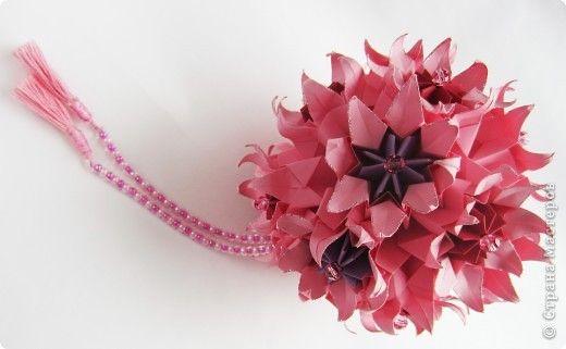 Розовая кусудамка