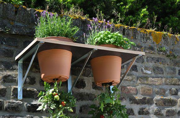 Genuss auf kleinstem Raum: Besonders für Balkonbesitzer eignet sich unsere neue Do-it-yourself-Idee, um Tomaten und Kräuter auf dem Balkon anzupflanzen.