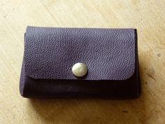 porte monnaie en cuir sans couture by Douceurs et couleurs