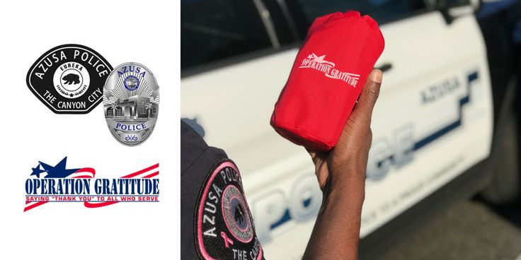 Operation Gratitude Delivers to Azusa Police