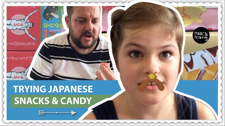 Japanese snacks and candy taste test (EP108) - YouTube