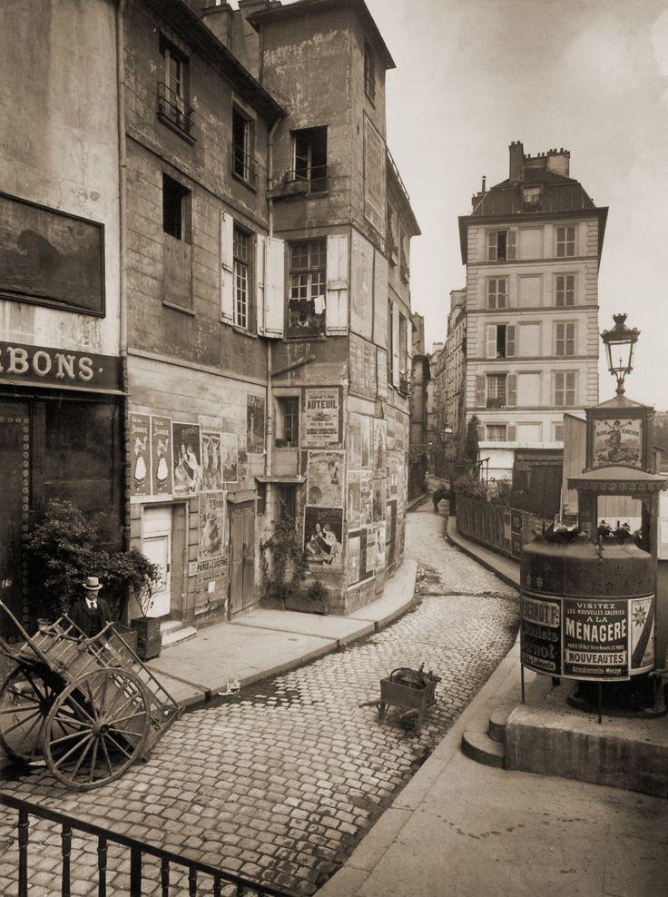 DIBUJANDO ARQUITECTURAS: Eugéne Atget rescató el Viejo París