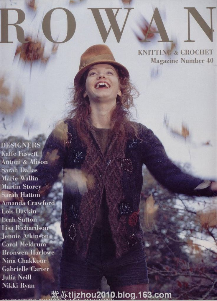 【转载】Magazine Number 40--- 欧编风格(1) - 编织幸福的日志 - 网易博客