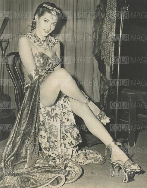 Yvonne de Carlo, Song of Scheherazade (love the shoes)