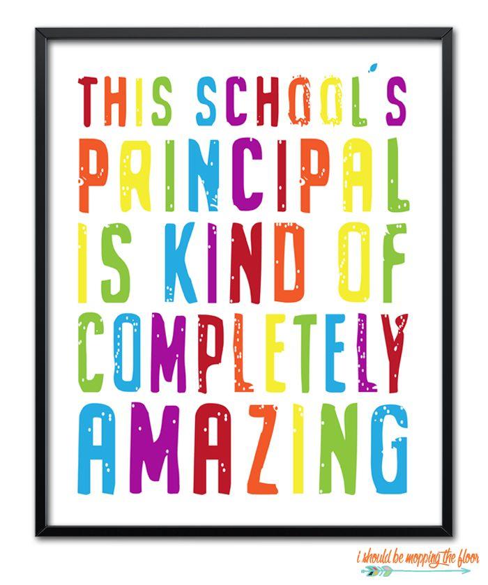 Assistant Principal Principal Appreciation Principal Gifts
