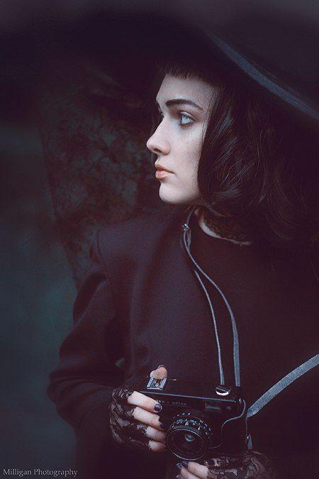Lydia Deetz by MilliganVick.deviantart.com on @deviantART