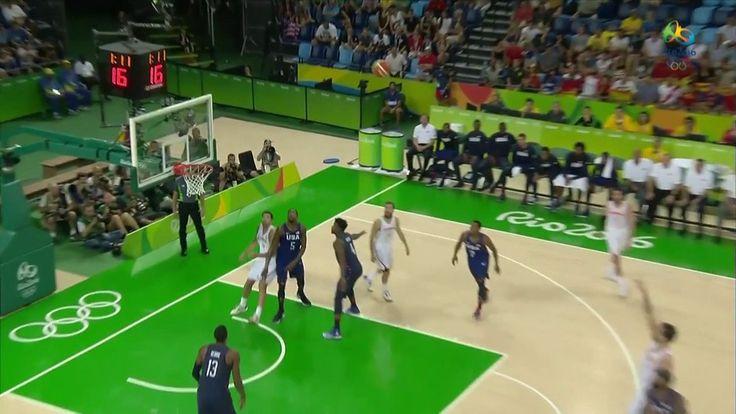 Rio-2016: Dream Team dos EUA bate Espanha e vai disputar ouro no basquete