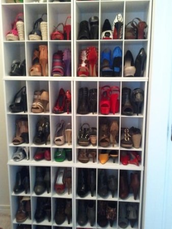 Beau Do You Have Enough Shoes To Fill A Whole Closet? Organize Them With # ClosetMaid